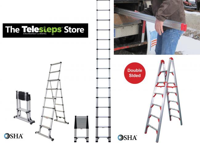 The Original Telesteps from the Inventors of the Original Telescopic Ladder